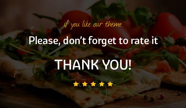 Pizza House - Restaurant / Cafe / Bistro WordPress Theme - 2