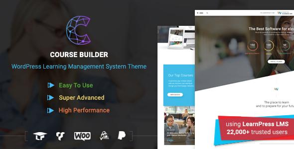 Course Builder WordPress LMS Theme
