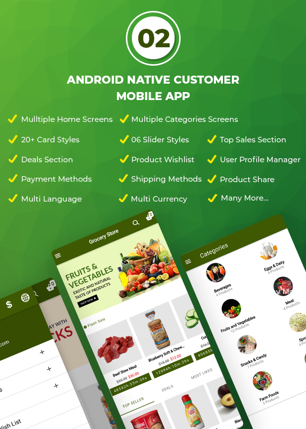 Ecommerce Solution with Delivery App For Grocery, Food, Pharmacy, Any Store / Laravel + Android Apps - 4