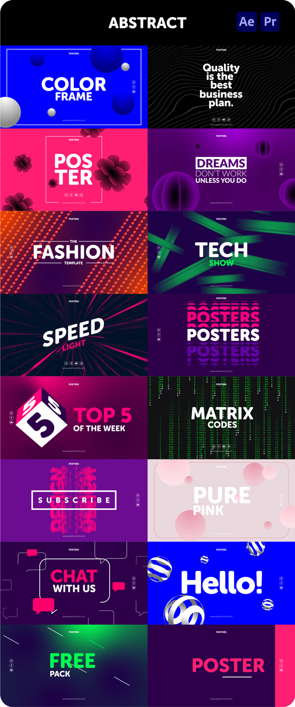 Posters Pack - 27