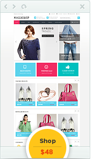 Shop OpenCart Theme