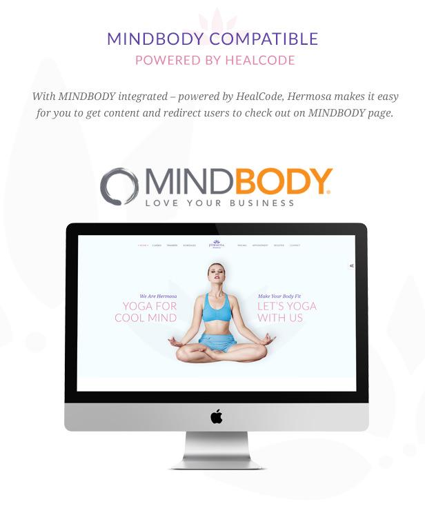 Hermosa - Health Beauty and Yoga WordPress Theme