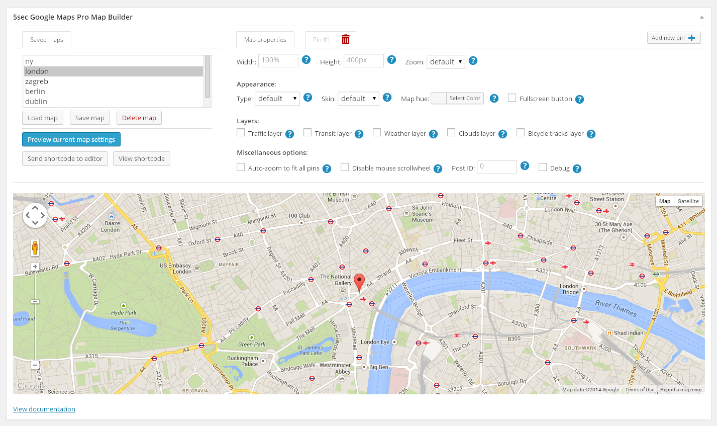 based on  top selling google maps plugin on codecanyon. sec google maps pro by webfactory  codecanyon