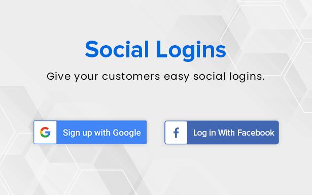 social logins
