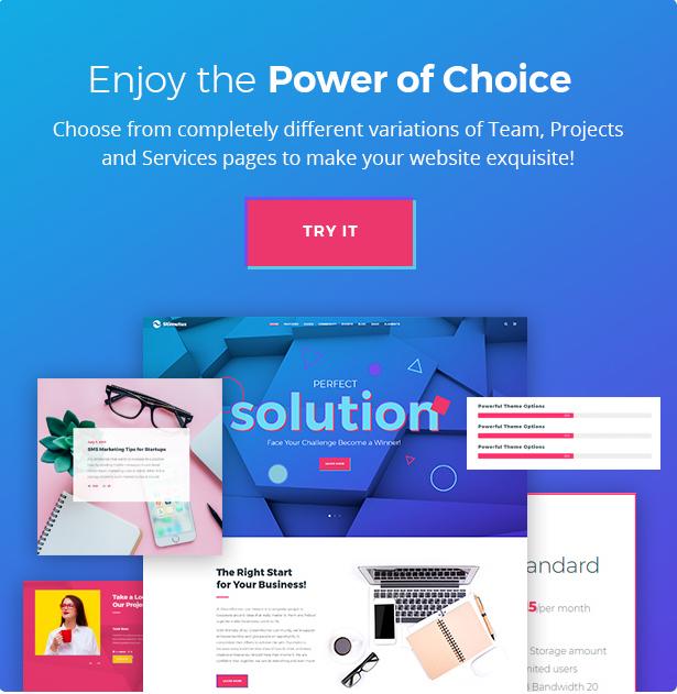 Stimutus - Creative Multihome Elementor Based WordPress Theme - 12