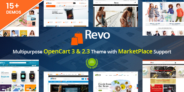 Revo Drag Drop Multipurpose Opencart 3 2 Theme With 15 Layouts Ready By Magentech