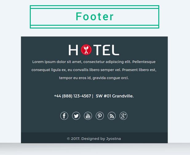 Hotel Email Marketing Template By Jyostna Themeforest