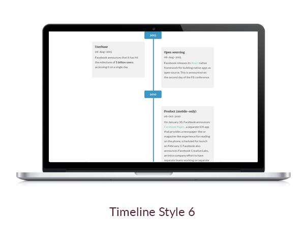 flik timeline style 6