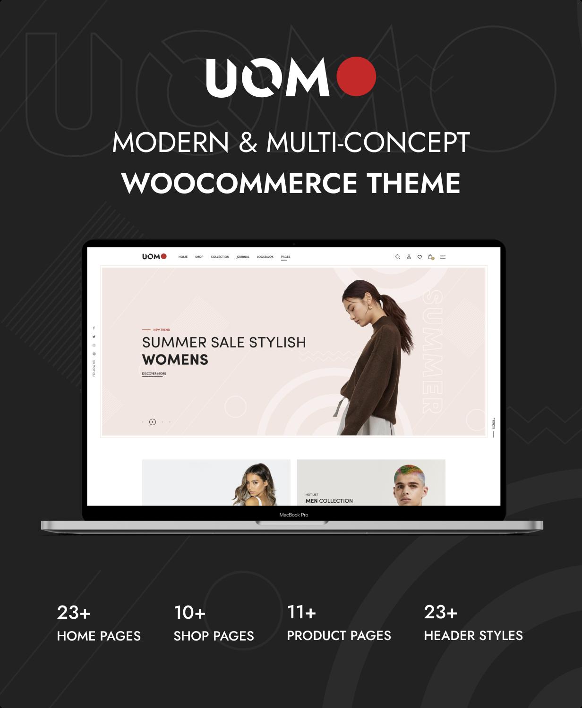 Uomo - Tema de WordPress multipropósito para WooCommerce - 4
