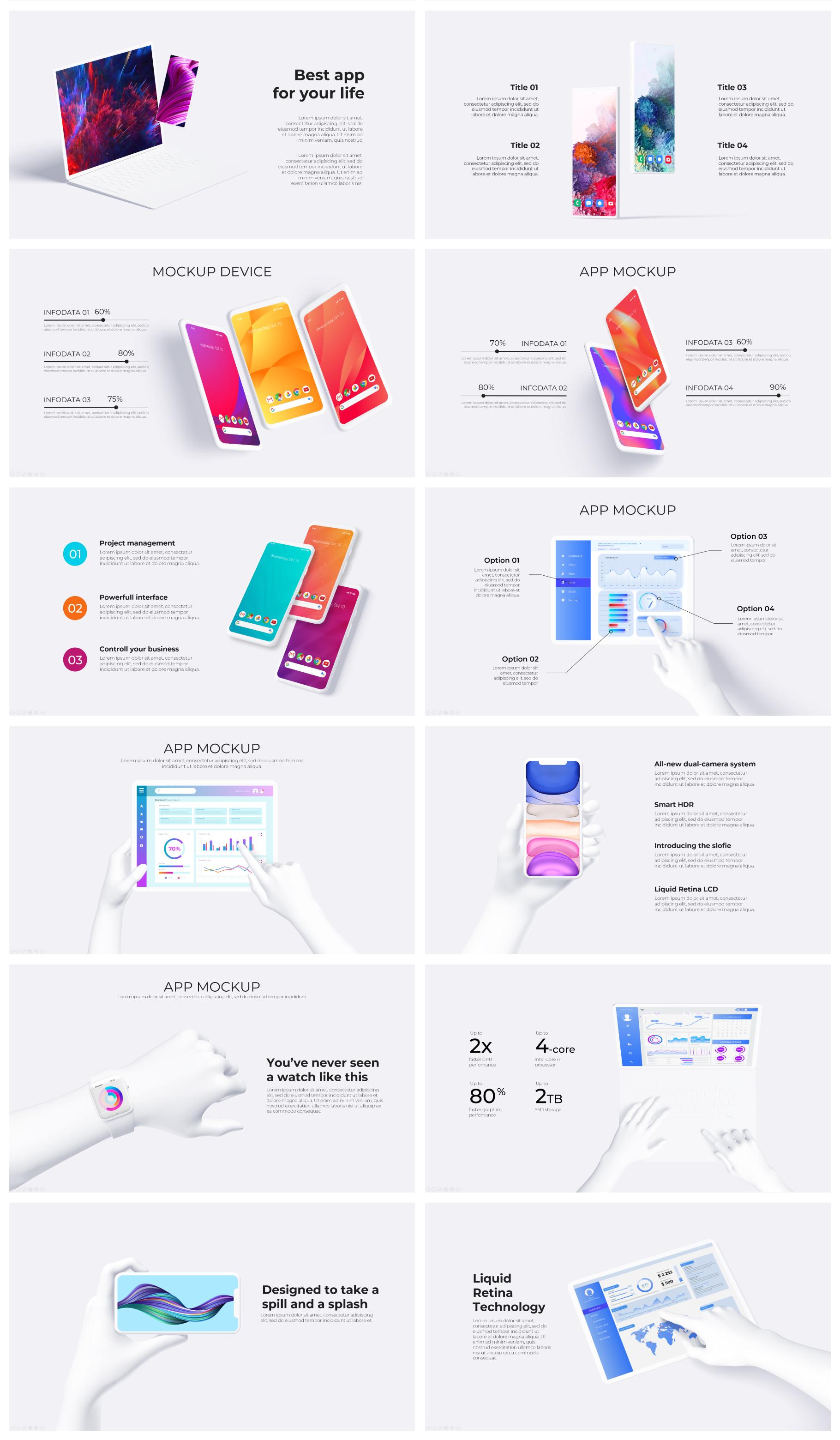 Multipurpose Infographics PowerPoint Templates v.5.0 - 102