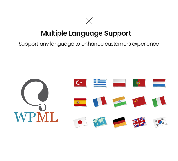 Multiple Language Support Venoma Fashion WordPress WordPress Theme