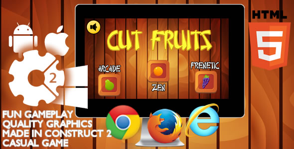 Cut Fruits - CodeCanyon Item for Sale