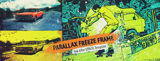 Parallax Freeze Frame