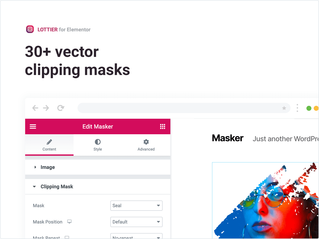 30+ vector clipping masks