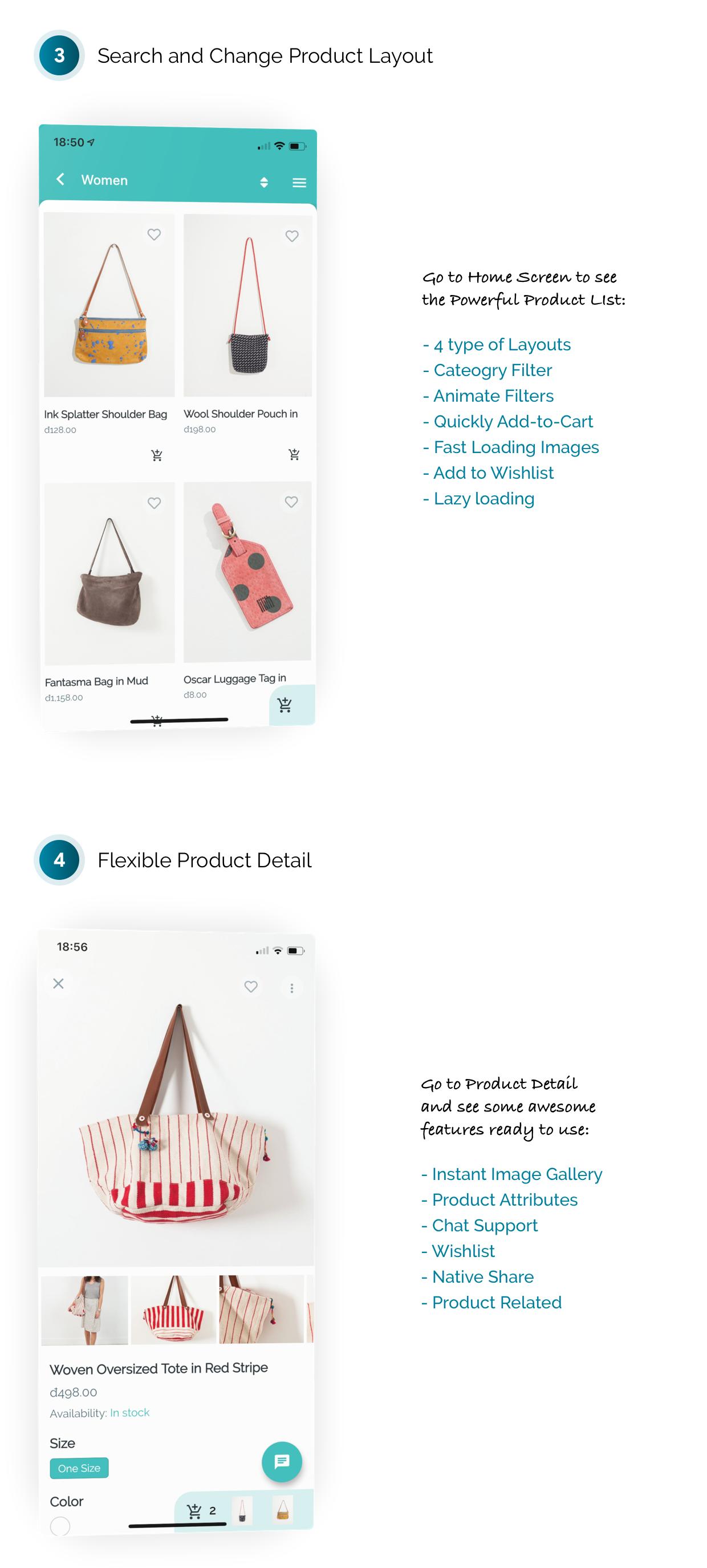 FluxStore Shopify - Die beste Flutter E-Commerce App - 6