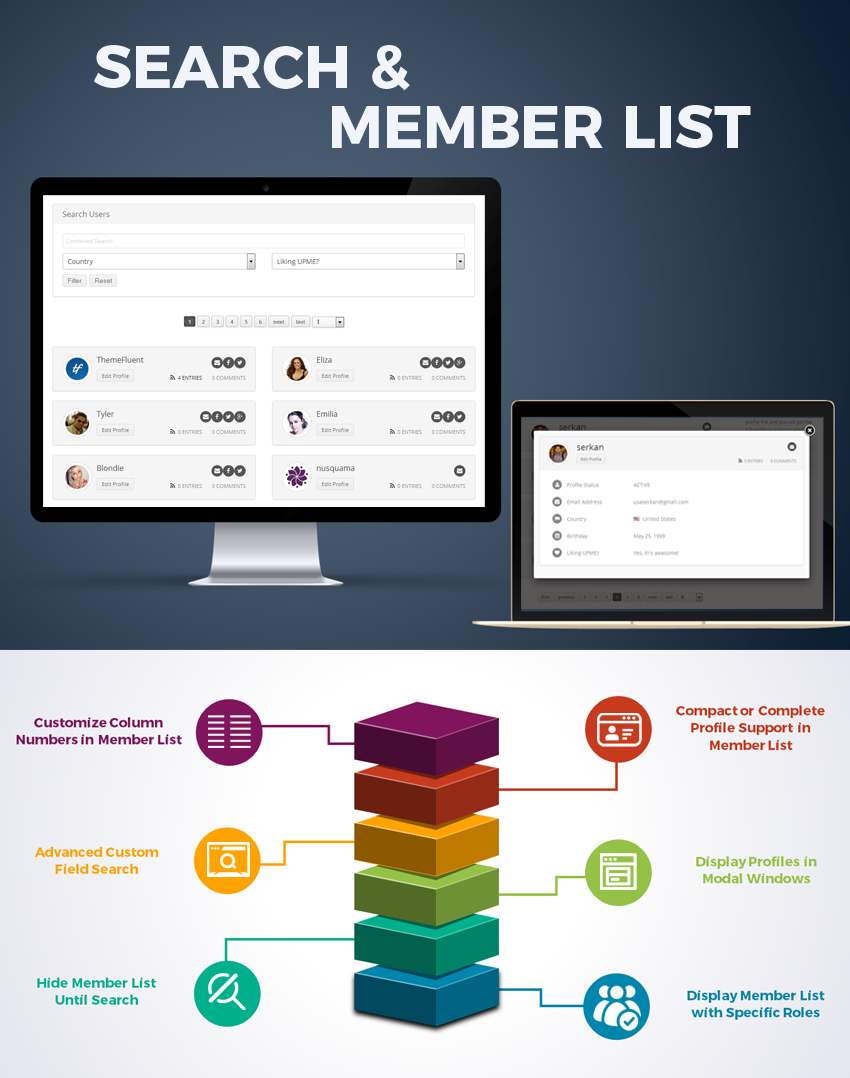 User Profiles Made Easy - WordPress Plugin - 18