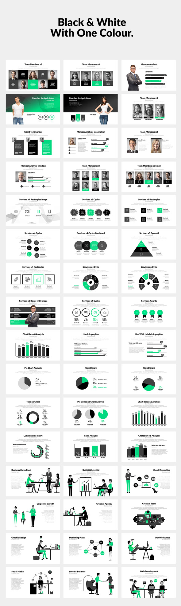 Corporate Bundle & Infographics - 11
