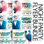 Night Club Flyer Bundle - 3