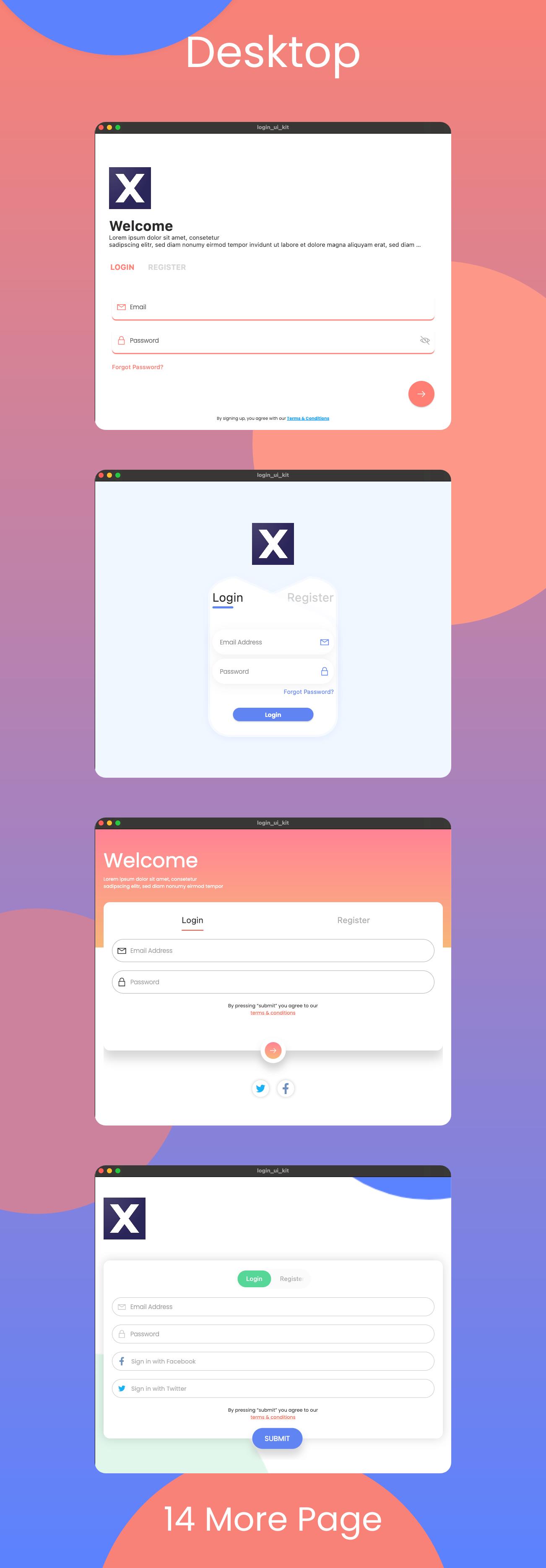 Flutter Login Ui Kit in Flutter 2.0 (iOS, Android, Desktop, Web) - 6