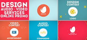 Icons Composer Script / Flat animated icons / Design concepts and backgrounds - 19