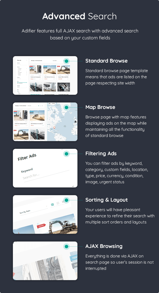 Adifier - Classified Ads WordPress Theme - 14