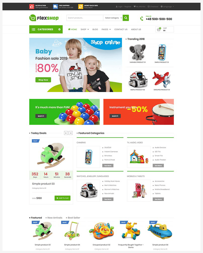 VG Flexshop - Multipurpose Responsive WooCommerce Theme - 10
