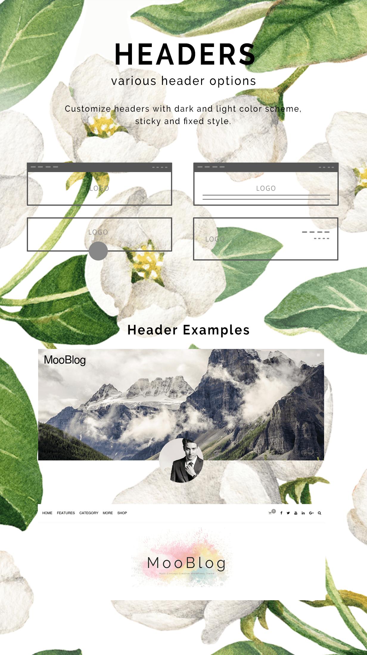MooBlog -  Multi Layout Elegant Blog Theme