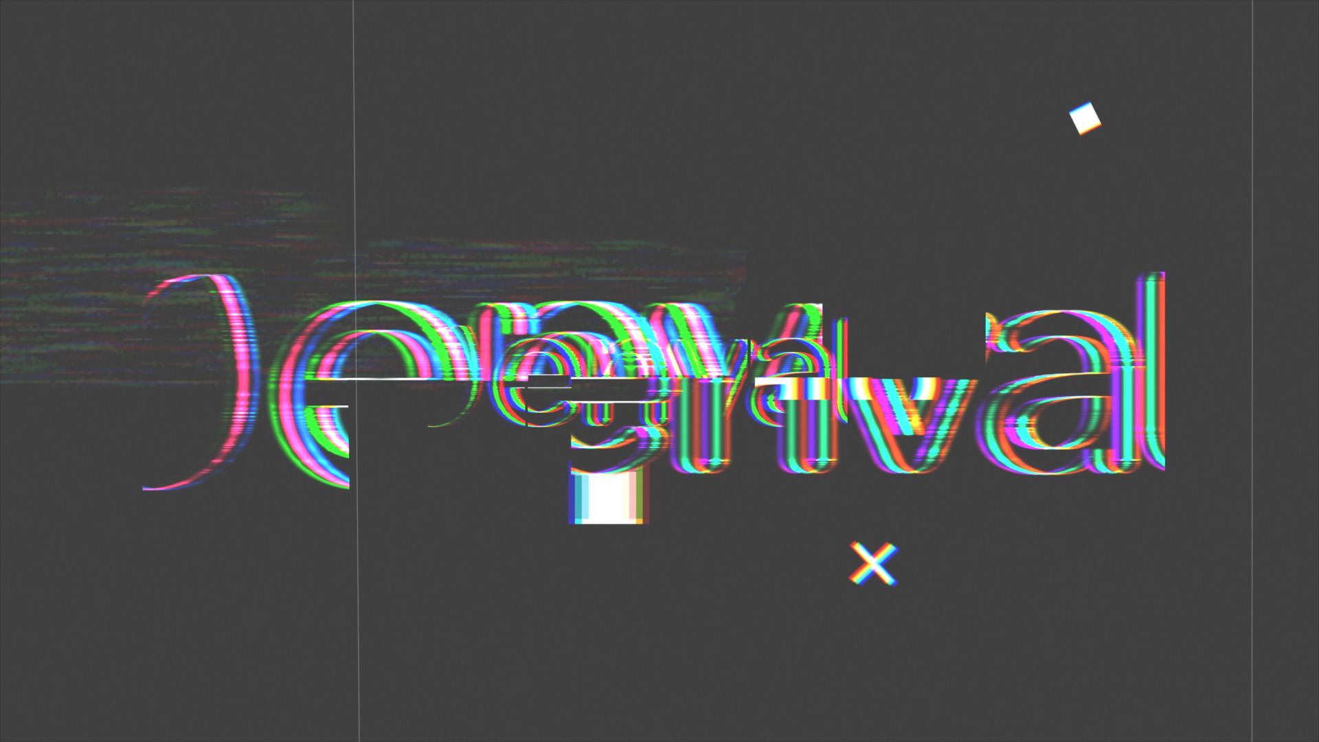 Glitch Logo Reveal - 3