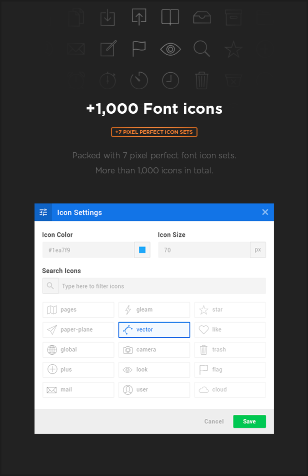 MEGAPACK – Marketing HTML Landing Pages Pack + PixFort Page Builder Access - 38