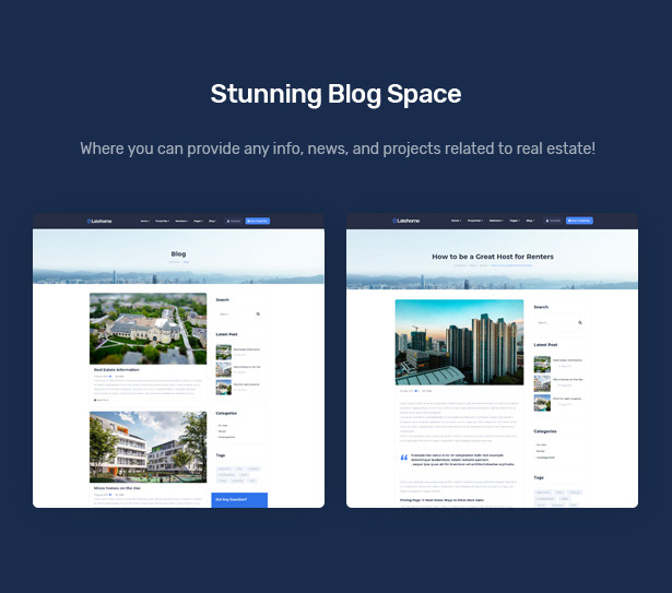 LateHome - Real Estate WordPress Theme 11