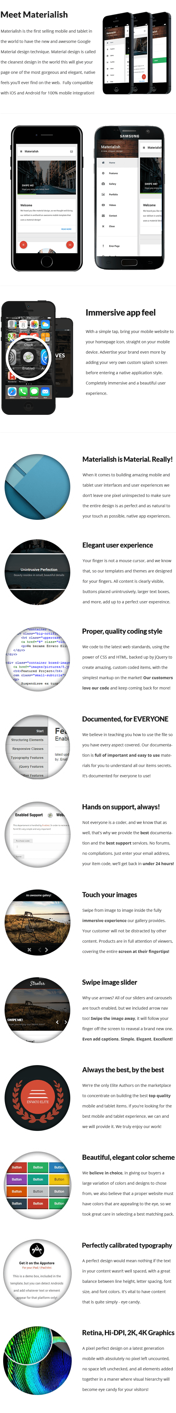 Materialish   PhoneGap & Cordova Mobile App - 10