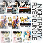 Night Club Flyer Bundle - 1