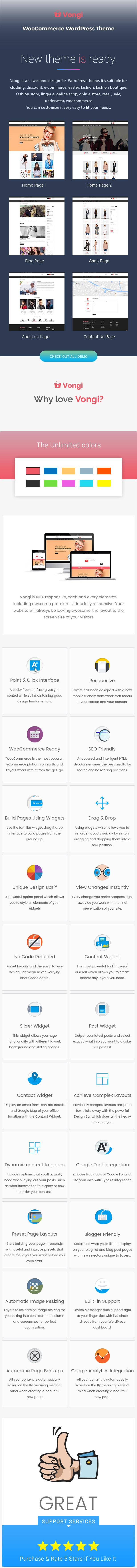 Vongi - WooCommerce WordPress Theme 2