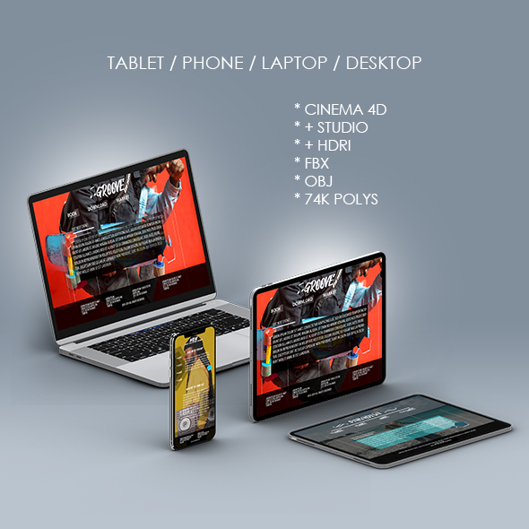 Phone 11 Pro Max for Element 3D and Cinema 4D - 5