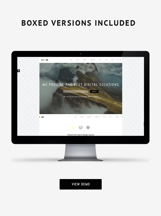 Ultron - Responsive One & Multi Page HTML Template by