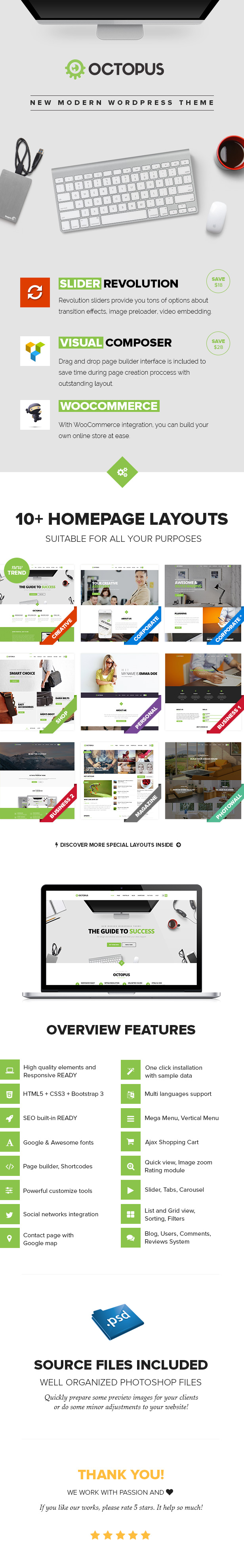 Octopus - Multipurpose Business WordPress Theme - 6