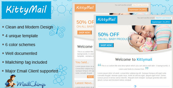 kittymail Newsletter template