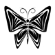 Butterfly tattoo - 242