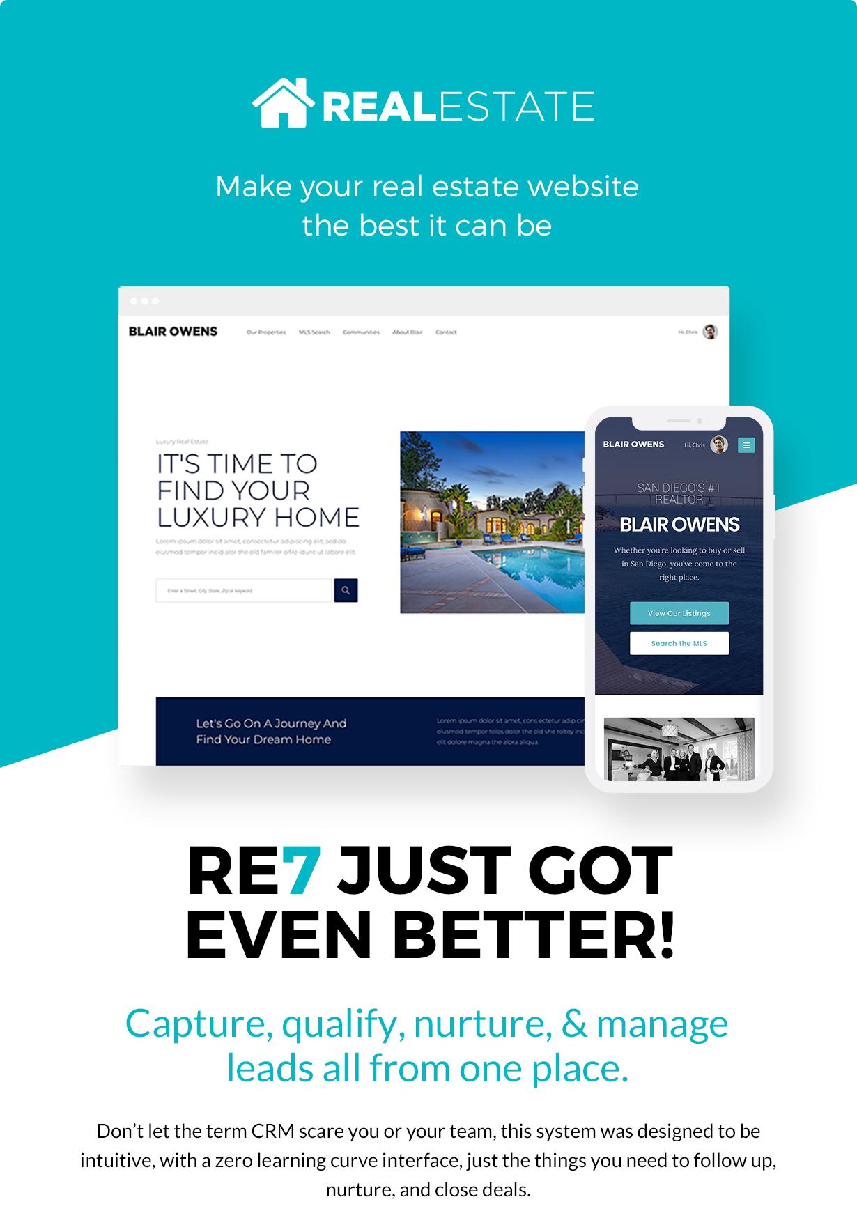 WP Pro Real Estate 7 Responsive WordPress Theme Features