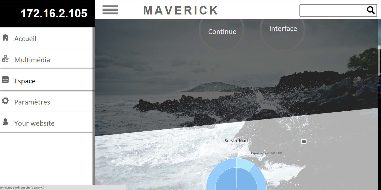 Maverick - Cloud storage website - 4