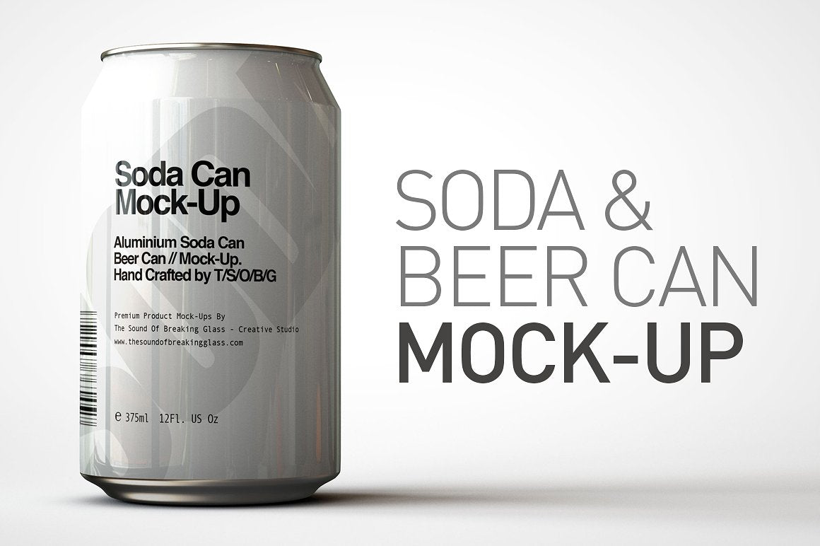 Soda Can - Beer Can Mock-Up V1
