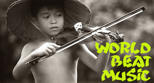 World Beat Music from greencaverecords.com