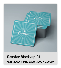 Ceramic Coaster Mock-up v5 - 8