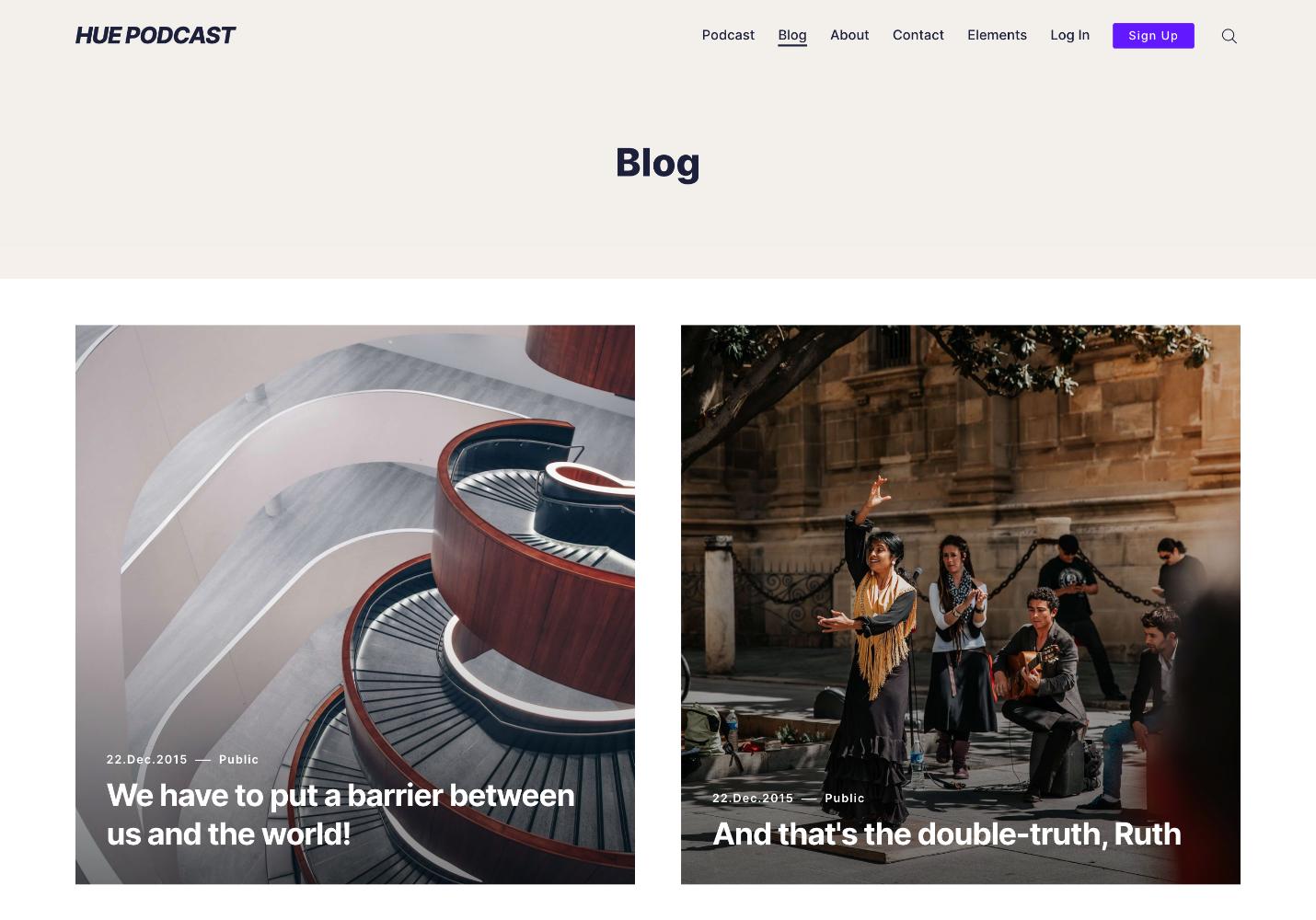 Hue Blog