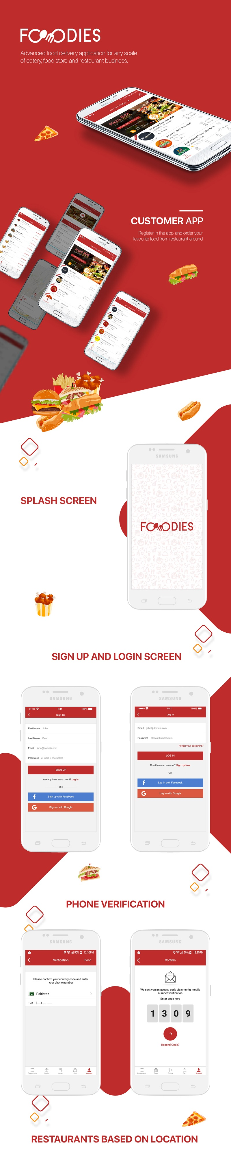 Native Restaurant Food Delivery & Ordering System With Delivery Boy - Android v2.0.6 - 10