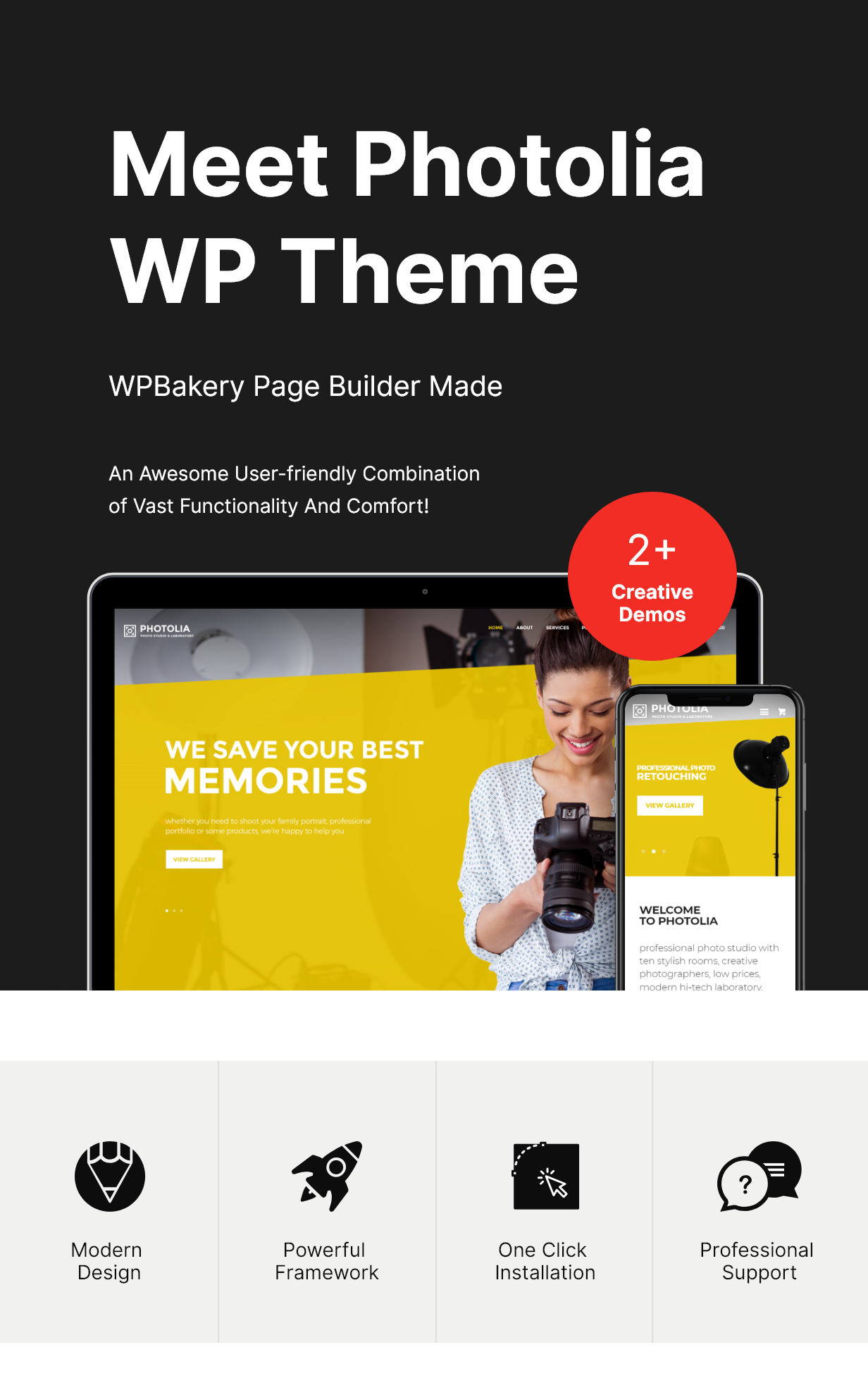 Photolia | Photo Company & Photo Supply Store WordPress Theme - 1