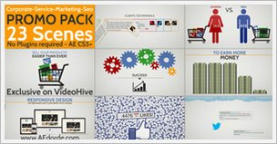 Corporate Service Marketing Seo Promo Pack