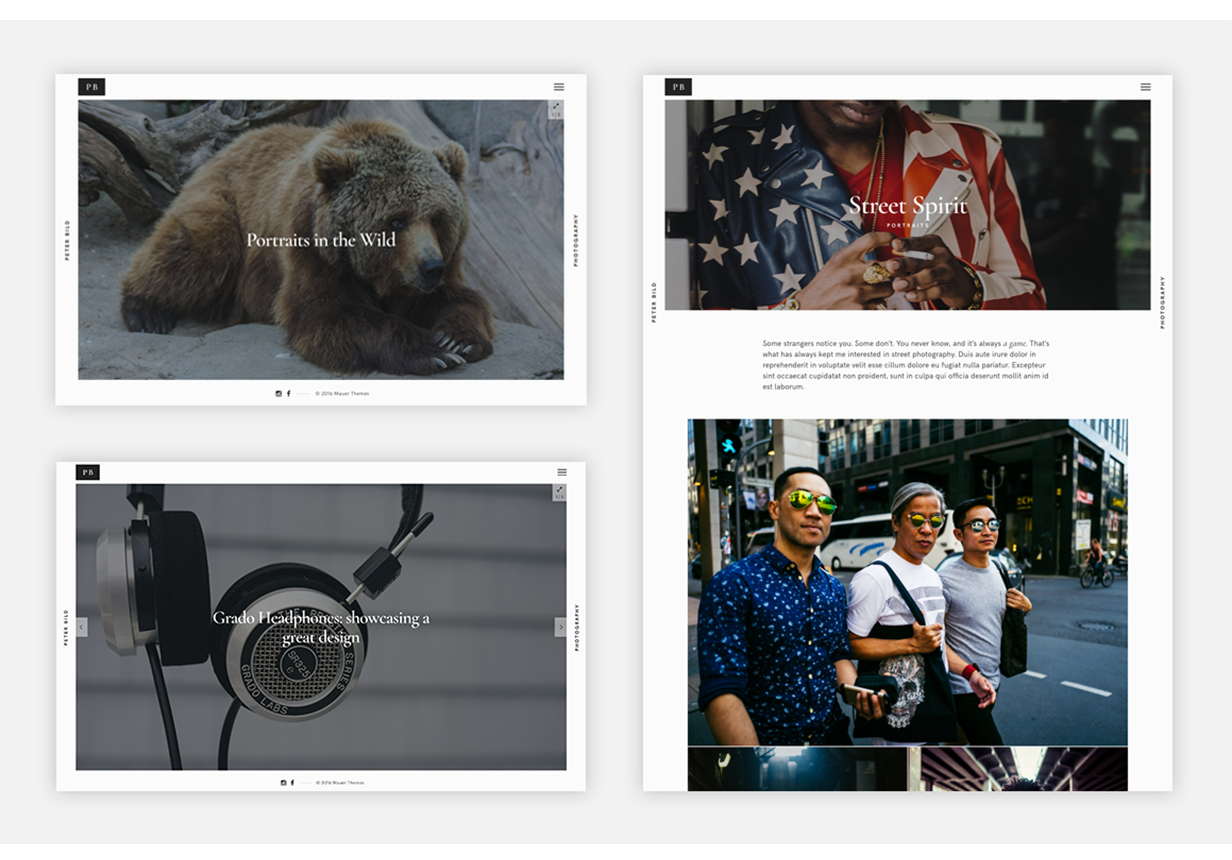 Bild — A Focused WordPress Photography Theme - 4