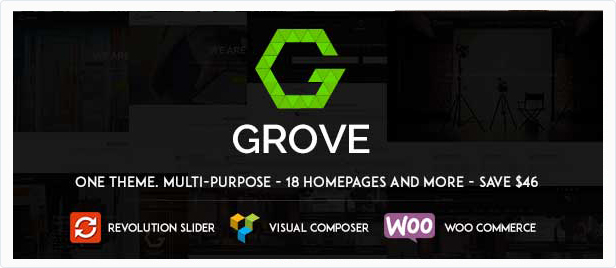GROVE - Responsive Multipurpose WordPress Theme