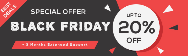 Black Friday Sale - Magento Theme